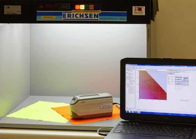 Determination of chromaticity coordinates